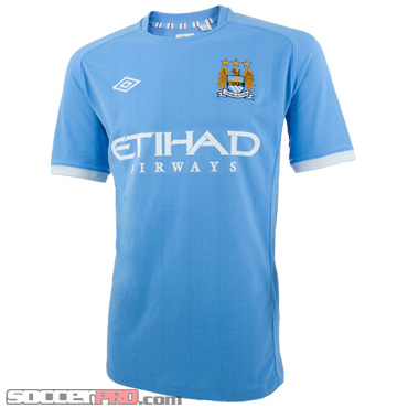 Manchester City 2010-11 Kit Review