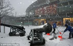 West Ham in Snow