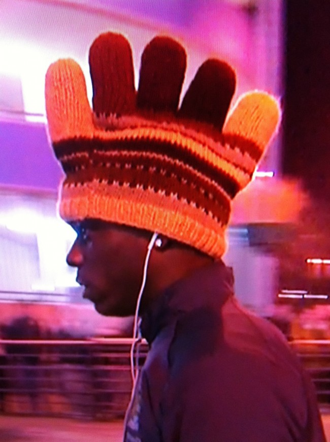 "Mario Balotelli Claims Insanity by Wearing Absurd ""Hand"" Hat"