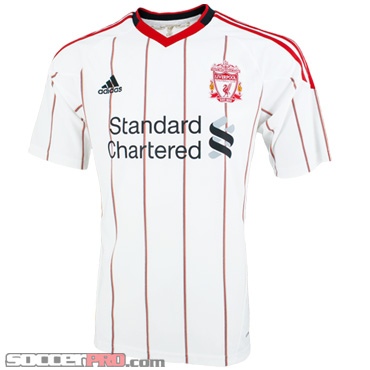 Liverpool Away Jersey for $55 Shipping Included