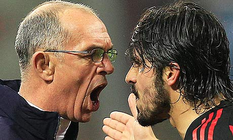 Gattuso Slaps/Headbutts Joe Jordan During Tottenham v. AC Milan