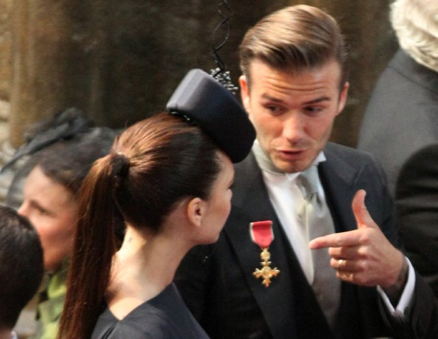 Royal's Have a Wedding…David Beckham Ruins It