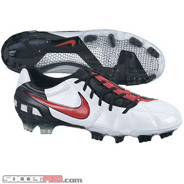 Nike Total90 Laser III K FG - White with Challenge Red Review -  SoccerProse.com