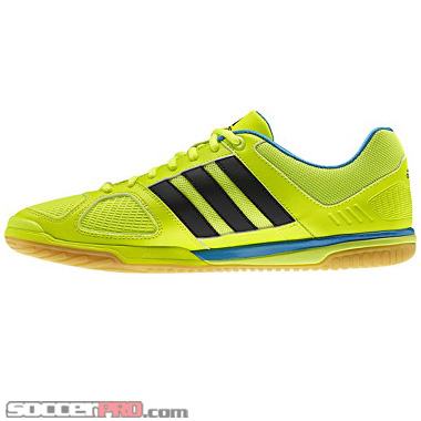 cantidad Hacer la cena velocidad  Adidas Top Sala X - Electricity with Black First Look and Review -  SoccerProse.com