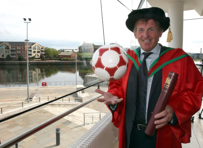 Honorary Degree for Kenny Dalglish