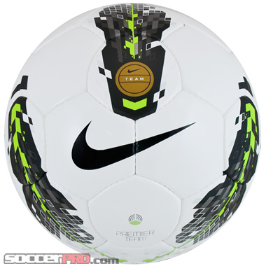 Nike Premier Team Ball White with Volt