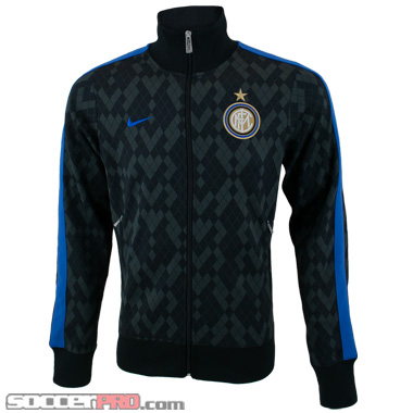 Nike Inter Milan Authentic N98 Jacket – Black with Blue