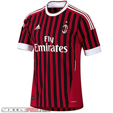 adidas AC Milan Home Jersey – 2011-2012 Review
