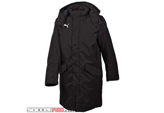 Puma Manager Coat - Black