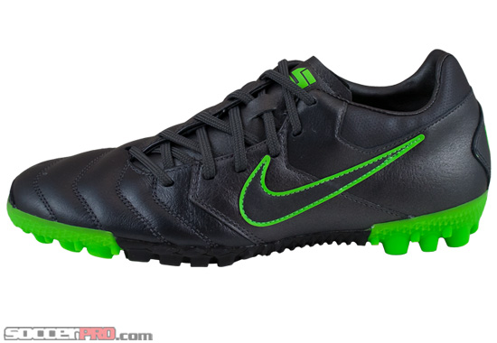 18fb671e15b Nike5 Bomba Pro Turf Soccer Shoes – Metallic Dark Grey with Electric Green  Review