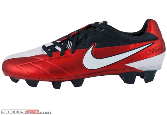 e7a28662d Nike T90 Laser IV KL Firm Ground Soccer Cleats - Challenge Red with ...