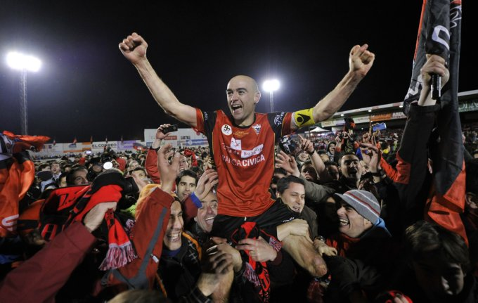 Infante is the Hero as Part-Time 3rd Tier Side Mirandes Beat Espanyol to Advance to Copa Del Rey Semi-Finals….(Video)