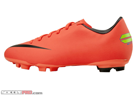 Nike Youth Mercurial Victory Review – Bright Mango with Metallic Dark Grey
