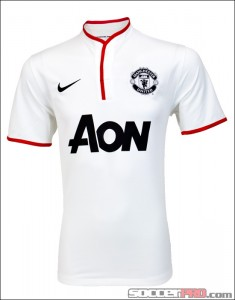 Nike 2012-13 Manchester United Away Jersey