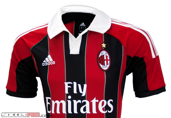 Revealed: Adidas AC Milan Home Jersey 2012/13