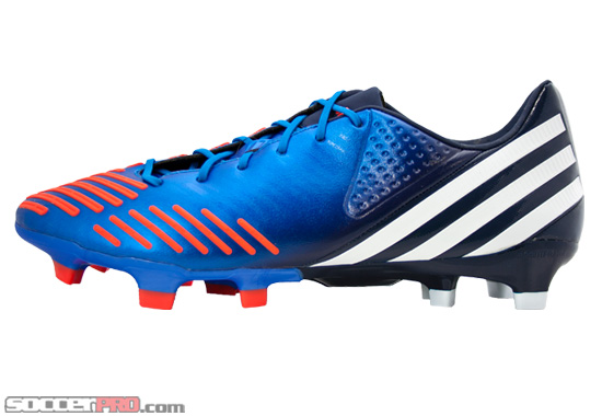 Adidas Predator LZ TRX FG Soccer Cleats Review – Bright Blue with Running White and Infrared