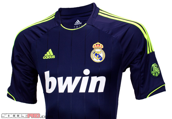 Revealed: Adidas Real Madrid Away Jersey 2012/13