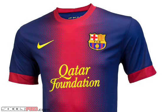 Revealed: Nike Barcelona Home Jersey 2012-2013