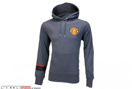 Nike Manchester United Core Hoody - Dark Gray