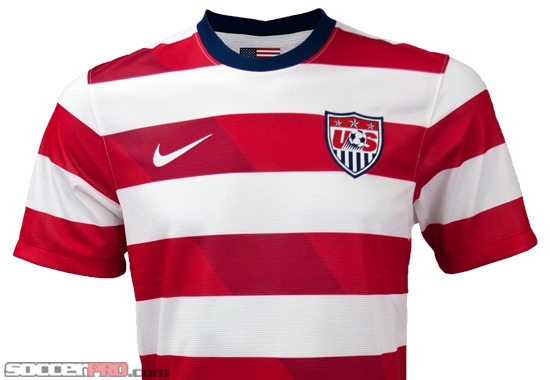 Nike USA Home Jersey 2012/13 Review