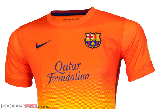 Nike Barcelona Away Jersey 2012/13 Review