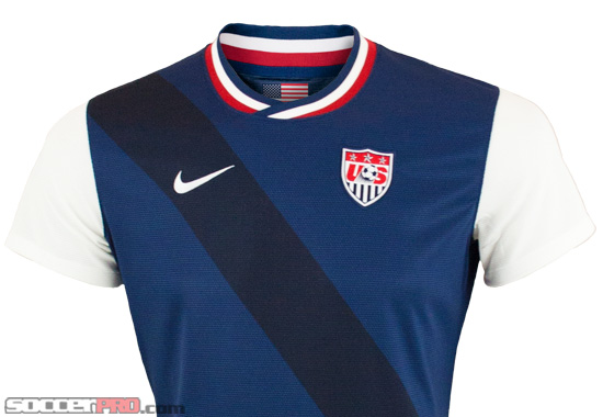 Nike USA Away Jersey 2012 Review