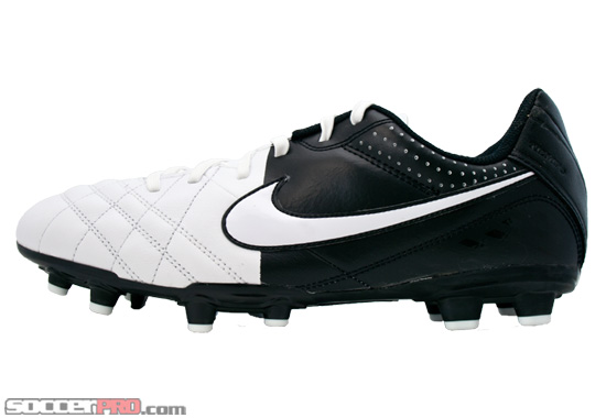 Nike Youth Tiempo Natural IV FG Leather Review – White with Black and White