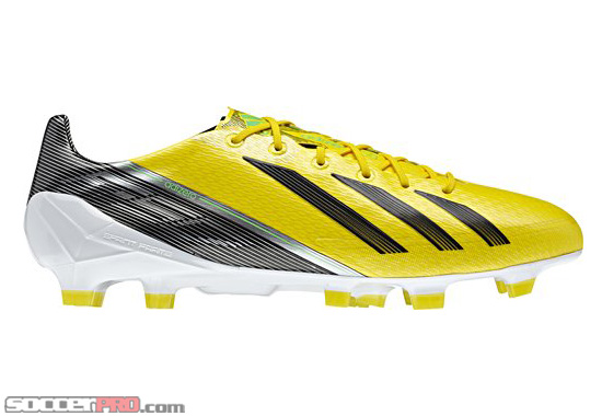 Revealed: Adidas F50 adizero TRX FG Soccer Cleats – Vivid Yellow with Black