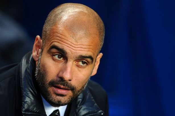 Pep Guardiola to Manchester City?
