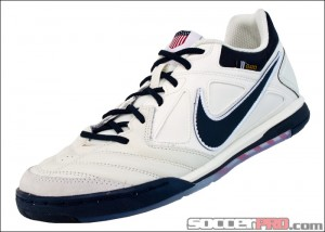 Nike5 Gato Leather USA 100 Sail SoccerPro.com