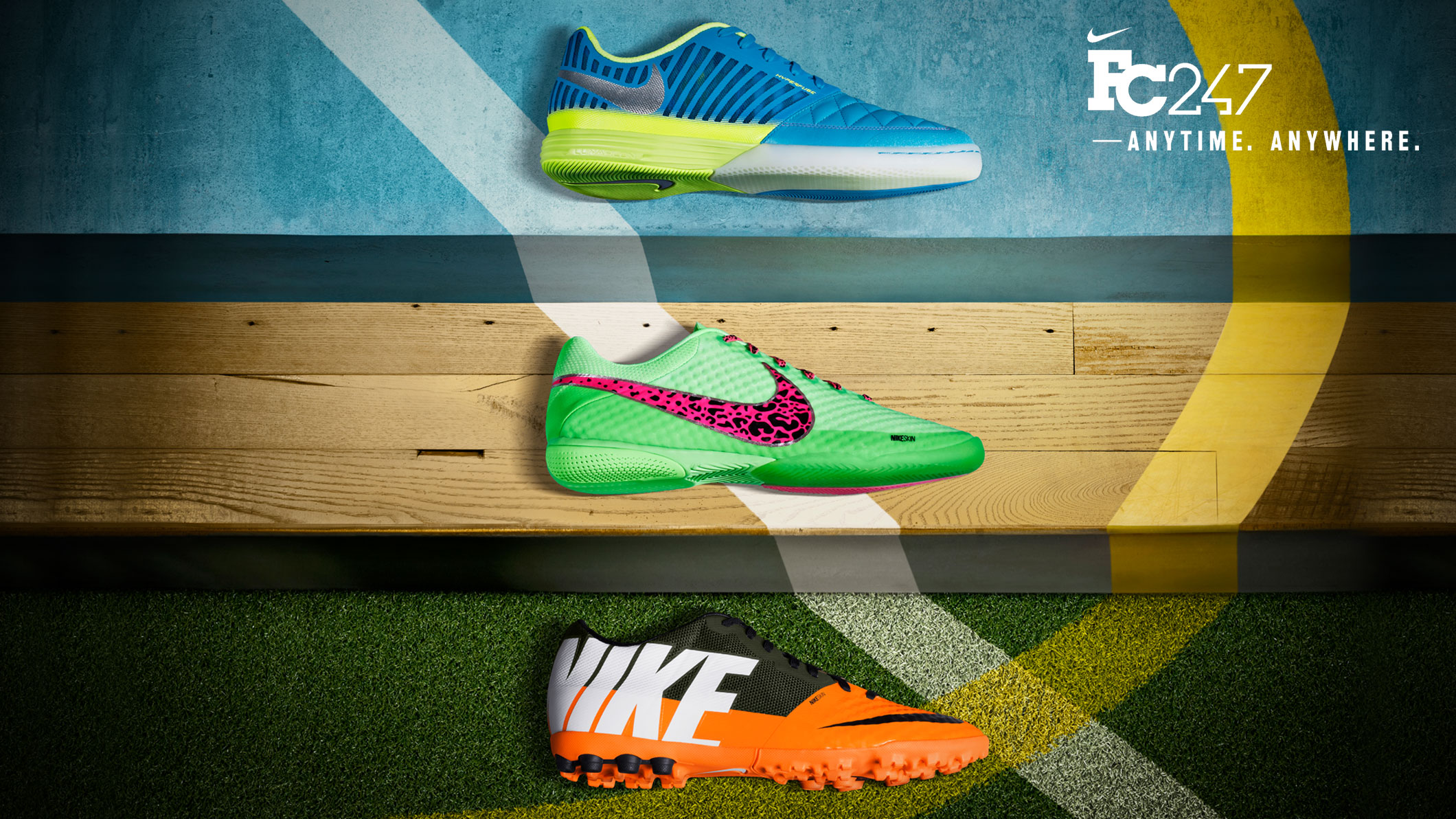 Nike Release the FC247 Collection, Update Nike5 Elastico, Bomba, and Lunar Gato