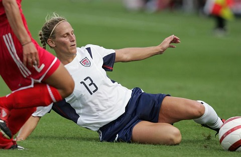 USWNT player Lilly