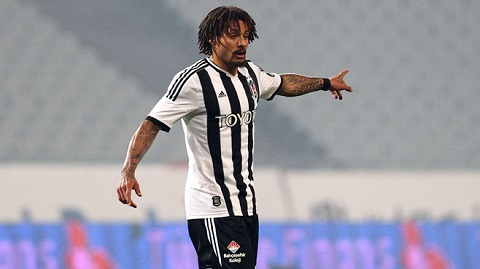 Jermaine Jones on Beskitas