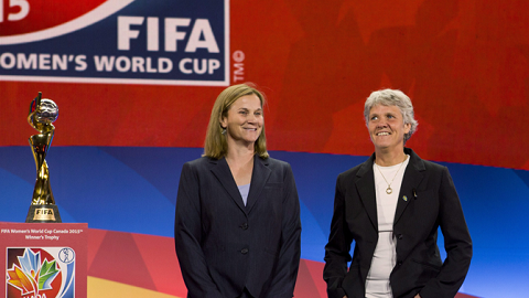 Pia Sundhage and Jill Ellis
