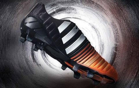 Black/orange adidas Nitrocharge