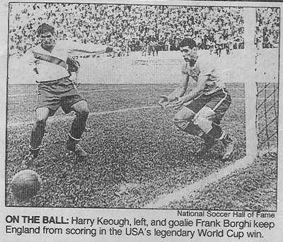 Remembering Frank Borghi and the 1950 US World Cup Team