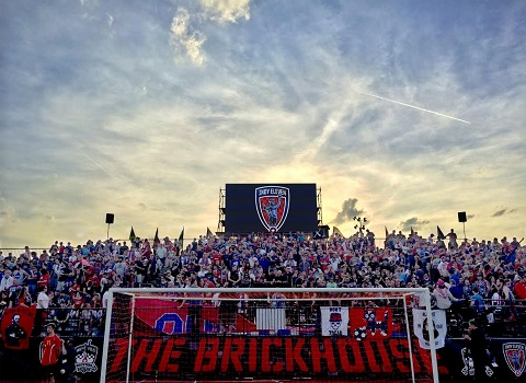 Indy Eleven supporters