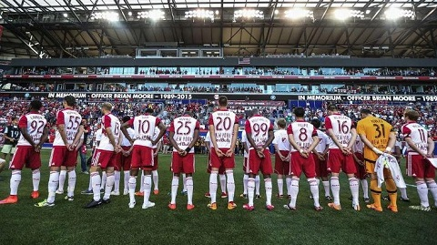 MLS' NY Red Bulls