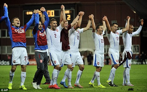Czech Republic qualifies for 2016 Euros
