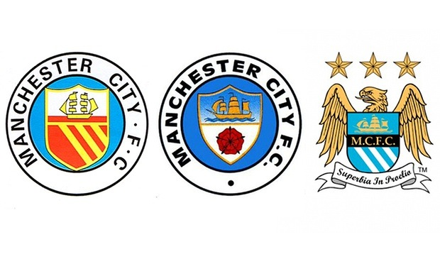 Man City old badges