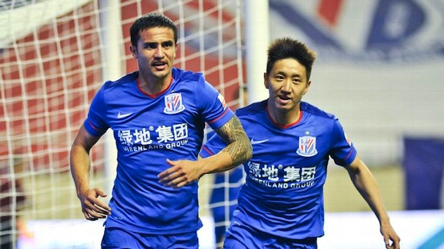 Tim Cahill in Chinese Super League
