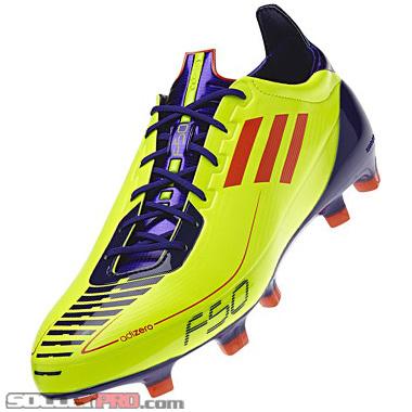 sports shoes 45e82 c6ba6 Adidas F50 adiZero TRX FG Review- Electricity Infrared - SoccerProse.com