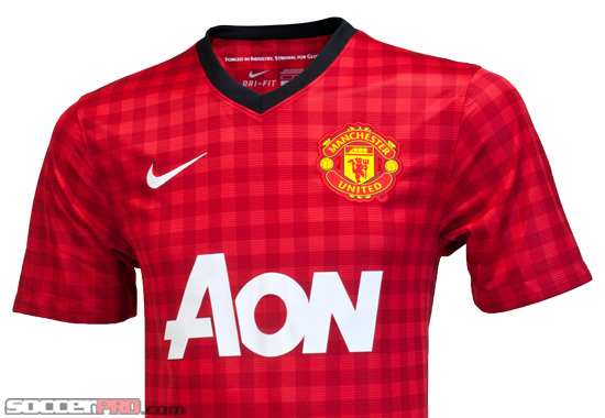 Nike Manchester United Home Jersey Review - 2012/13 - SoccerProse.com