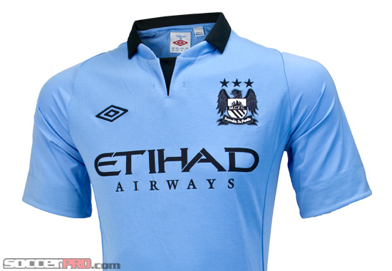 Umbro Manchester City Home Jersey 2012 13 Review - SoccerProse.com a4e248205